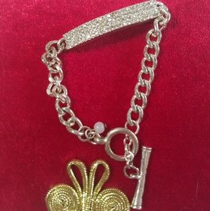 Kenneth Cole bling bar bracelet